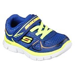 Skechers Flex Advantage - Mini Race - Royal-Yellow