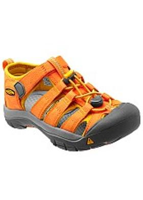 Keen Newport H2 Çocuk Sandalet - Persimmon Orange-Gold Fusion