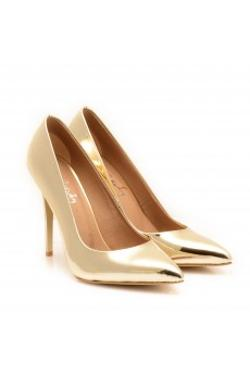 Sibel Agakay Exclusive Gold Stiletto