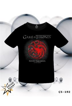 Lord Game Of Thrones - Fire And Blood Red T-Shirt