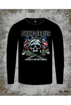 Lord Dying Fetus - War Of Attrition Siyah Erkek T-Shirt