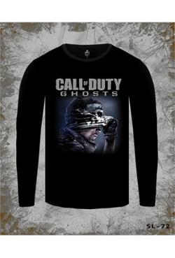 Lord Call Of Duty - Ghosts Siyah Erkek T-Shirt