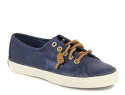 Sperry Lacivert Deri Sneakers