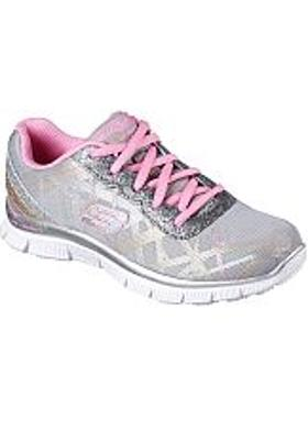 Skechers Girls' Skech Appeal - Gimme Glimmer - Gray-Mint