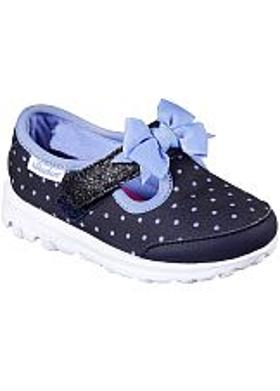 Skechers GOwalk - Dotty Dazzle - Navy-Light Blue