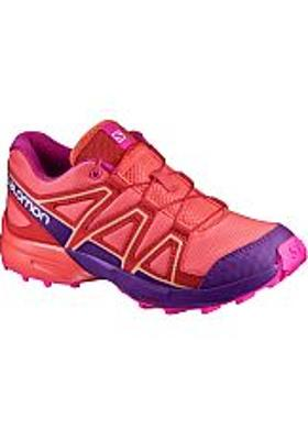 Salomon Speedcross J - Living Coral-Acai-Rose Violet