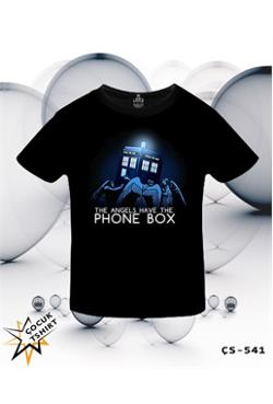 Lord Doctor Who - The Angels Have The Phone Box T-Shirt