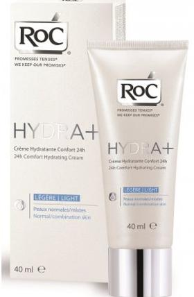 Roc Hydra+ 24h Comfort Light Bakım Kremi 40 Ml