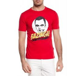 Köstebek The Big Bang Theory - Bazinga Erkek (Unisex) T-Shirt