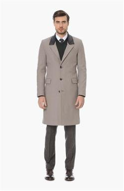 Network Smart Casual Camel Palto