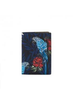 Fonfique Gemma Passport Cover Parrot