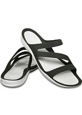 Crocs Swiftwater Sandal Women - Smoke-White