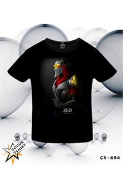 Lord League Of Legends - Zed Mask T-Shirt