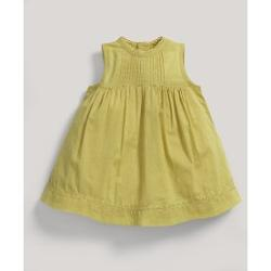 Mamas Papas M&P LOOSE FIT DRESS MUSTARD