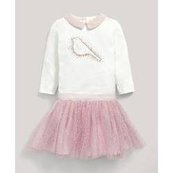 Mamas Papas M&P 2 Lİ APPLIQUE BODY VE TUTU ETEK SET