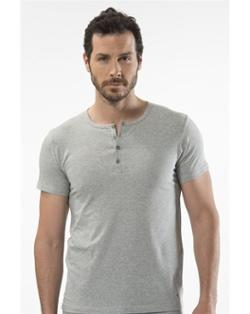 Cacharel Gri Pamuk T-Shirt 1308