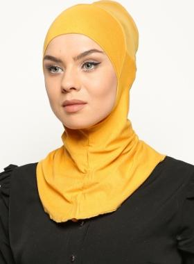 Ecardin Clima Fit Hijab Bone- Gold
