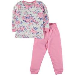 Baby Center Civil Girls Penye Pijama Takımı 2-6 Yaş Pembe