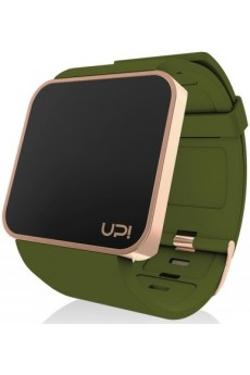 Up! Watch UPWATCH TOUCH SLIM Shiny Rose & Green