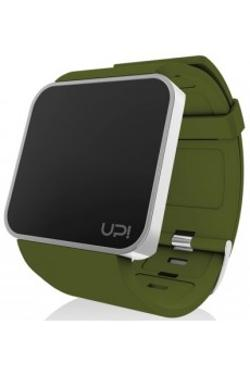 Up! Watch UPWATCH TOUCH SLIM Shiny Silver & Green