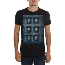 Köstebek Game of Thrones - Temple of Faces Erkek(Unisex) T-Shirt