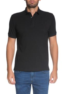 Cacharel CT16 Polo Yaka T-Shirt Siyah