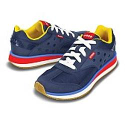 Crocs Retro Sneaker Women - Navy-Red