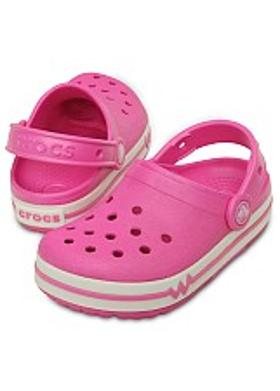 Crocs CrocsLights Clog PS - Party Pink-White