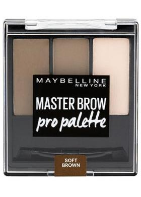 Maybelline Master Brow Pro Palette 3 Soft Brown Far Paleti