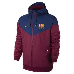Nike FC Barcelona Authentic Windrunner Erkek Ceketi