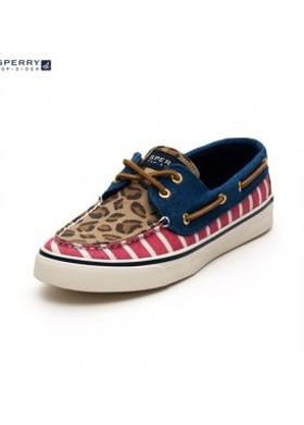 Sperry 9299231 Bahama / Red/leopard - RED