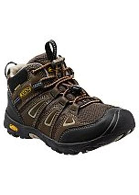 Keen Oakridge Mid Waterproof Çocuk Bot - Cascade Brown-Brindle