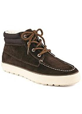 Sperry Bahama Suede Lug Chukka Boot - Dark Brown