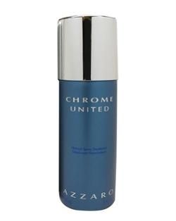 Azzaro Chrome United 150Ml Erkek Deodorant