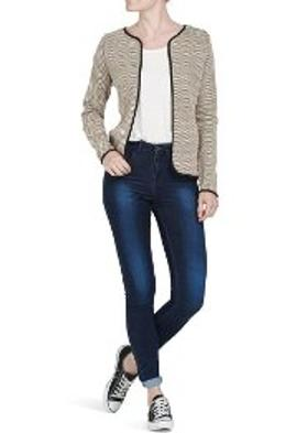 Only BAYAN TRİKO HIRKA 15103200 SHORT KNITTED CARDIGAN