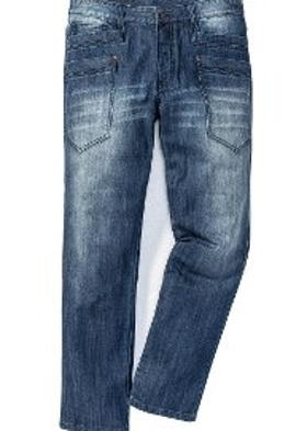 Bonprix RAINBOW Jean Pantolon Regular Fit Straight - Mavi