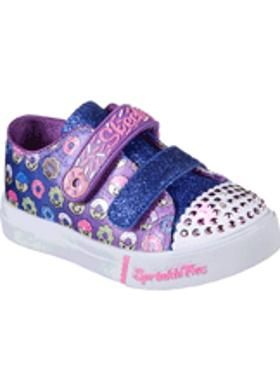 Skechers Girls' Sprinkle Toes: Skippers - Sweet Somethin - Blue-Multi