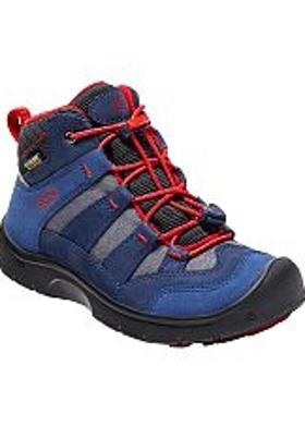 Keen Hikeport Mid WP Çocuk Bot - Dress Blues-Fiery Red