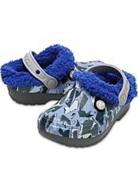Crocs Classic Blitzen III Graphic Kids - Slate Grey-Blue Jean