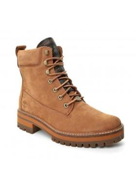 Timberland A1kıg Courmayeur Valley Yboot Timberland - Rust Earthybuck w/Rubber Charred Suede