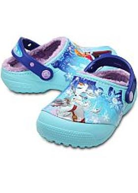 Crocs Fun Lab Lined Frozen Clog - Ice Blue