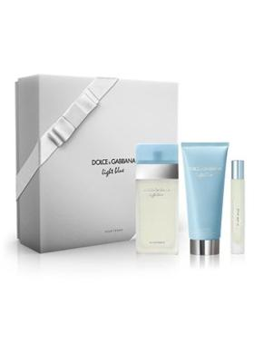 Dolce & Gabbana Light Blue Edt 100 Ml +100 Ml Body Lotion + Edt 7,4 Ml Kadın Parfüm Seti