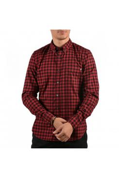 Timberland A1obwh23 Lsbackriverflannelmedginghamgdslim Timberland - Tibetan Red YD