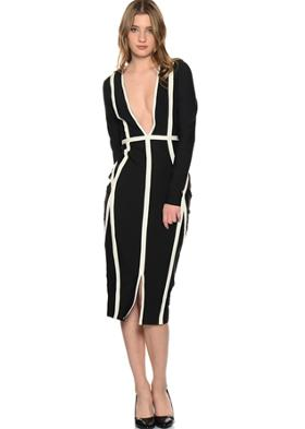 Yves Saint Laurent Missguided Elbise