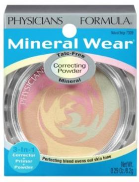 Physicians Formula Pudra Mineral Wear Airbrush Beige Spf30