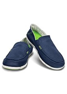 Crocs Stretch Sole Loafer Men - Navy-Pearl White