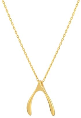Gimora Strength Wishbone Necklace Kolye