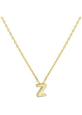 Gimora Z Initial Necklace Kolye