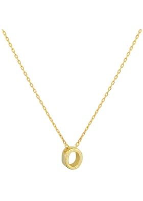 Gimora O Initial Necklace Kolye