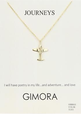 Gimora Journeys Plane Necklace Kolye